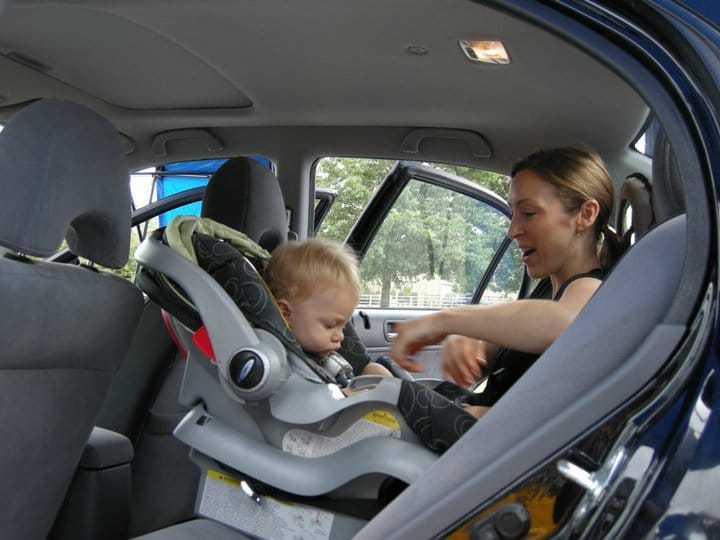 Installing an infant car seat rear-facing safety 1st