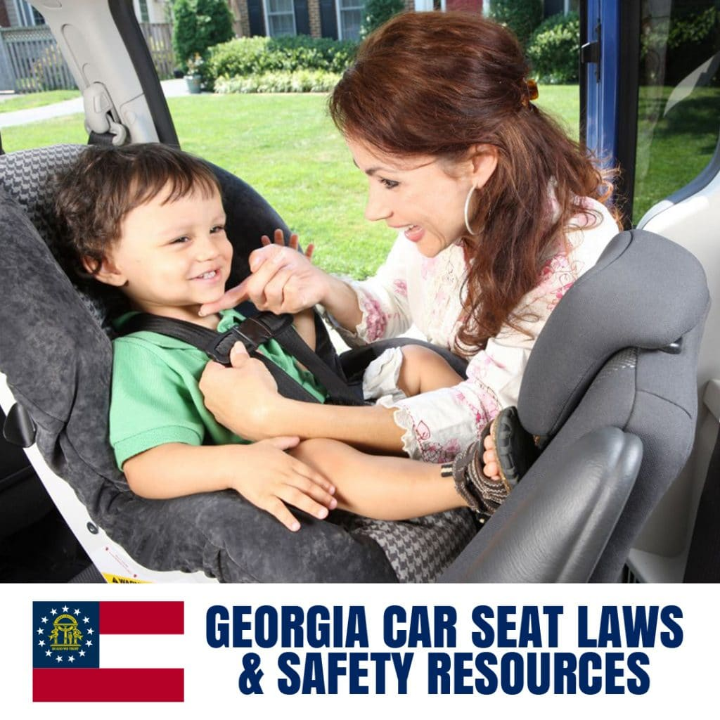 Georgia Car Seat Laws 2020 Current Laws Safety Resources For Parents Safe Convertible Car Seats