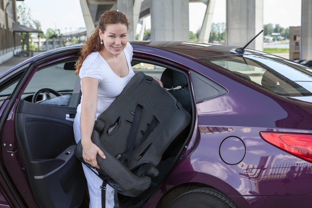 Car seat recycling and donation